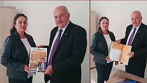 Malatya Bölge Müdürü Yaşar'dan Turizm Şube Müdürü Ali Cengiz'e Ziyaret