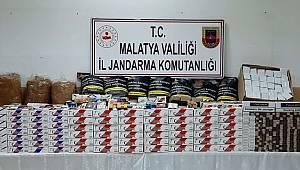 Malatya'da Jandarma istihbarat ekiplerinden uyuşturucu operasyonu