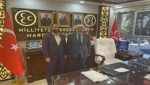 Mehmet Polat'tan MHP Mardin İl Başkanı Ferhan Bozkuş'a Ziyaret