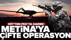 MİT'ten Metina'da çifte operasyon 5 terörist etkisiz hale getirildi