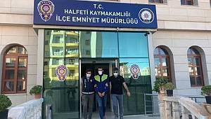 Şanlıurfa'da 10 farklı suç dosyası bulunan hırsız suçüstü yakalandı