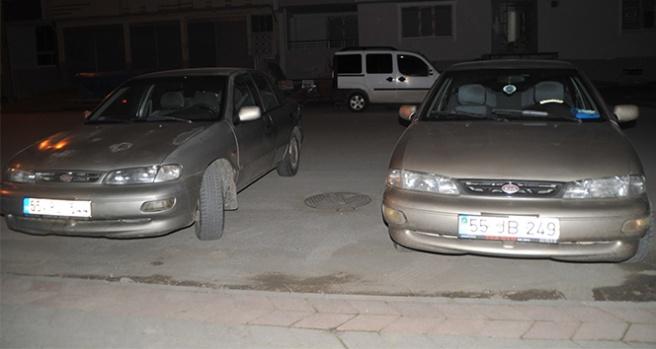 Arabalar karıştı: İlginç olay polisleri bile şaşkına çevirdi