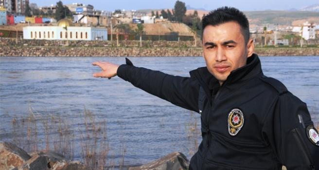 Cizre'de intihar eden kadını kurtaran kahraman polis, olay anını anlattı
