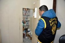 Adana'da polis ortaya çıkardı: Gizli bölmeli kaçak hastane - Haberler
