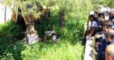 Mahalle Sakinlerinin Arazide Buldukları Mezar Polisi Alarma Geçirdi