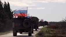 Rus askeri polisi devriyelerini sürdürüyor